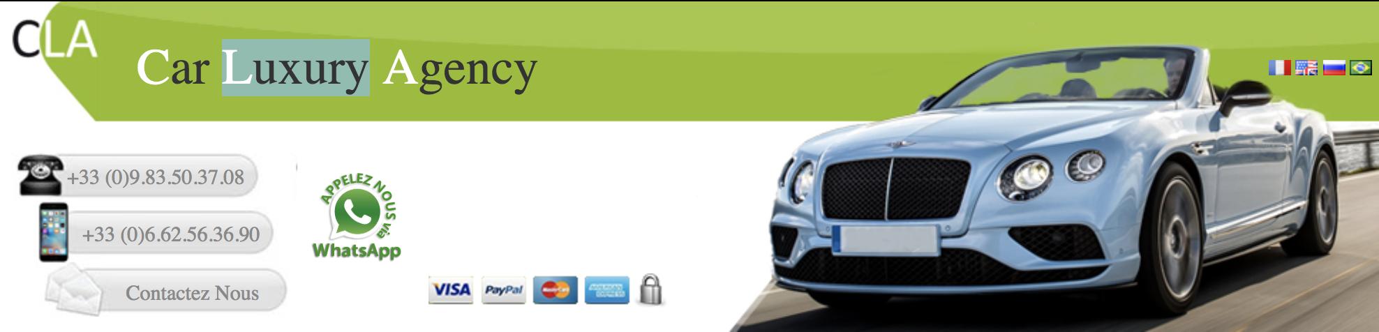 Pourquoi louer chez Car Luxury Agency ?